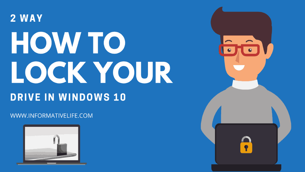 How to lock a drive in windows 10